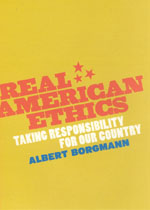 Press Release: Borgmann, Real American Ethics