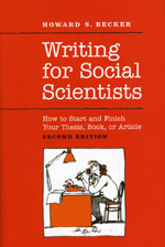 Image of cover to, Writing for Social Scientists : How to Start and Finish Your Thesis, Book, or Article (2nd Ed.), that links out to eBook resource.