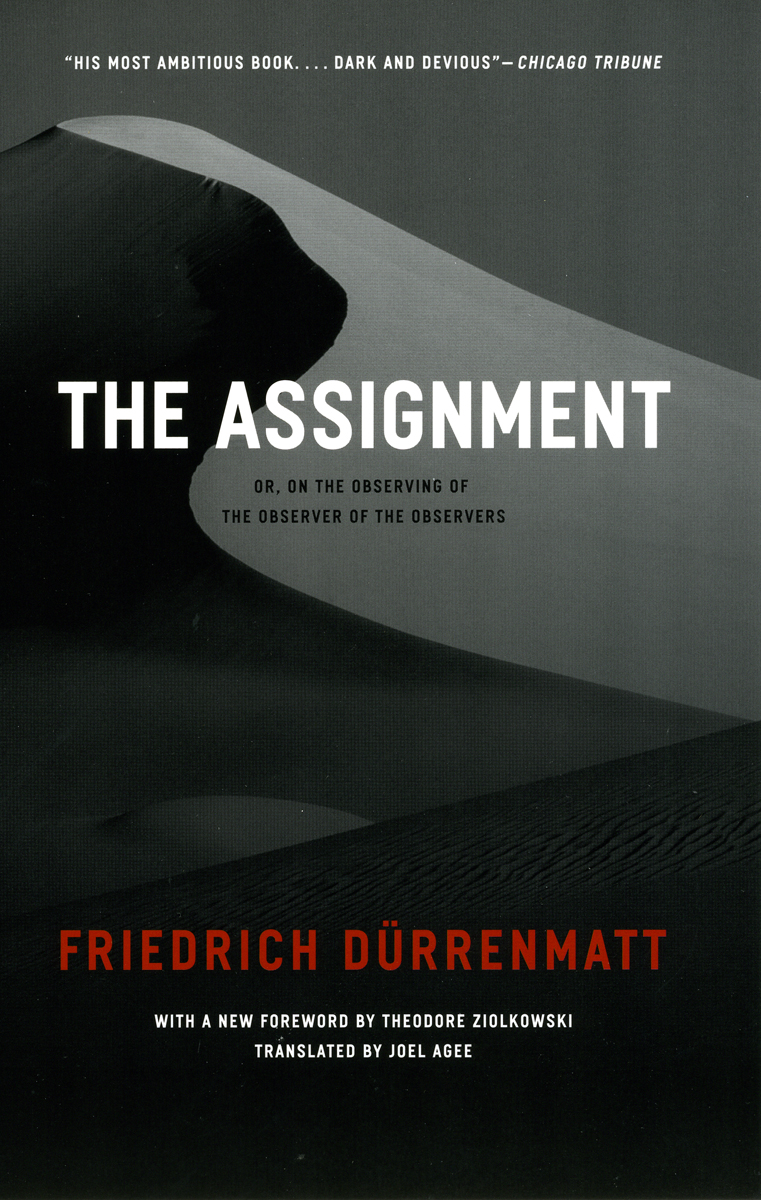 3 durrenmatt essay friedrich selected volume writings I believe myself to be related to brilliant ad copywriter ilon specht described in malcolm gladwell's essay as crazy - how to write statement of purpose in research paper l odyssey de pie critique essay.