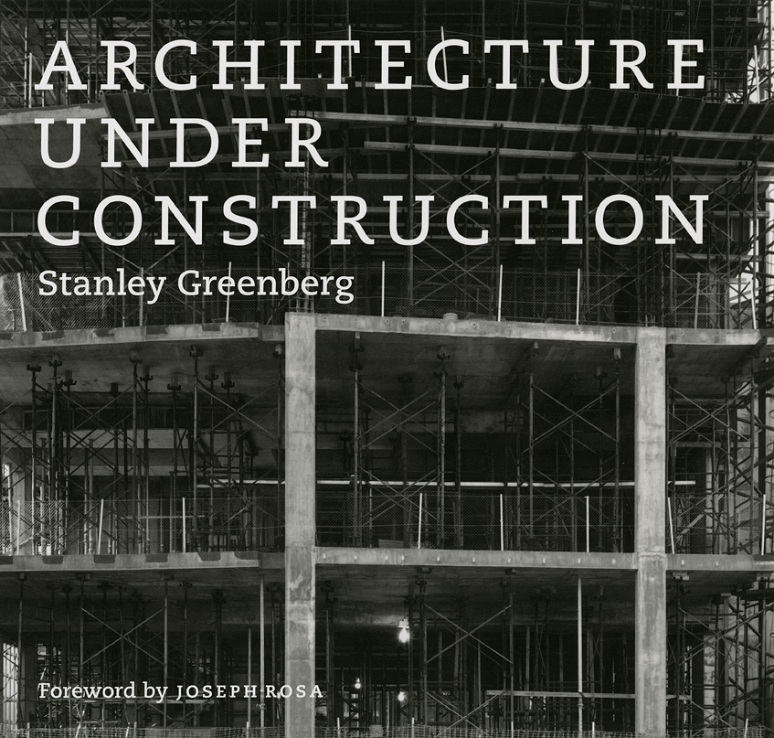 An exhibition of images from Architecture under Construction at the AIC
