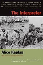 Press Release: Kaplan, The Interpreter