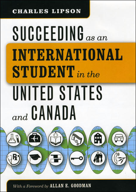 Lipson on Succeeding as an International Student