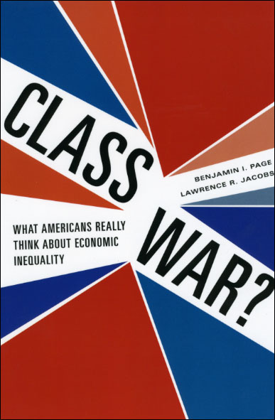 Press Release: Page and Jacobs, Class War?
