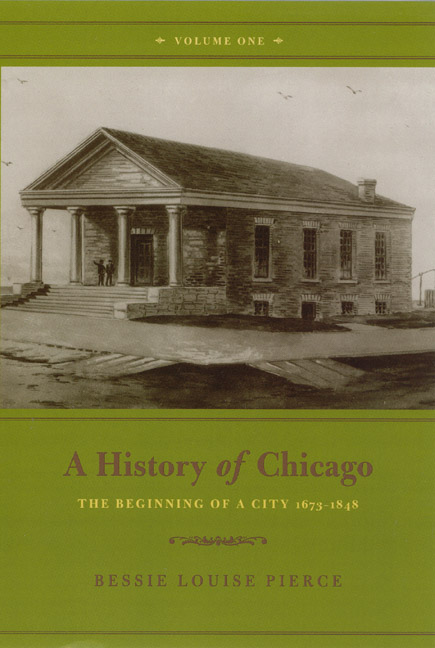 Review: Pierce, A History of Chicago