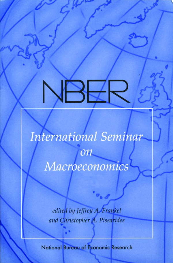 NBER International Seminar on Macroeconomics 2006, Volume 3