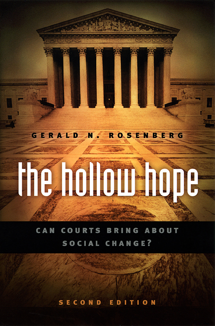 Press Release: Rosenberg, The Hollow Hope