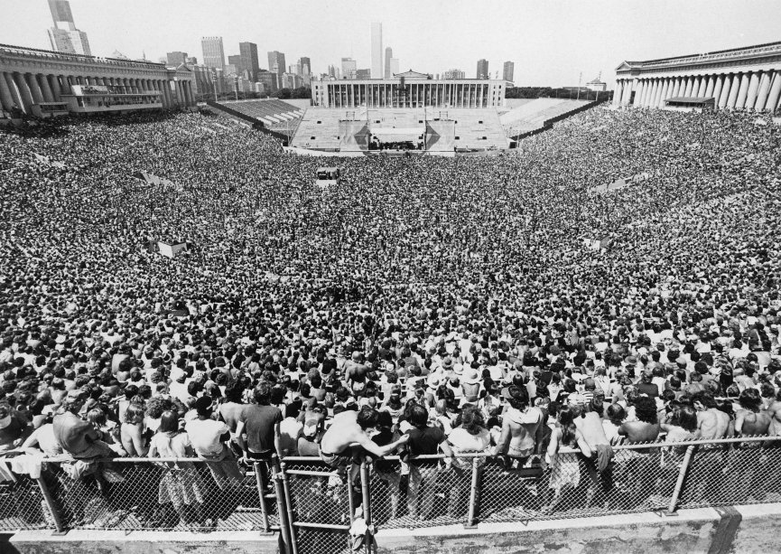 Ford >> Historic Photographs of Soldier Field | from Soldier Field: A Stadium and Its City by Liam T. A ...