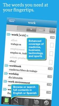 University of Chicago Press Spanish-English Dictionary App