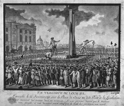 how was louis xvi executed