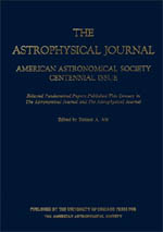 American Astronomical Society Centennial Issue of the Astrophysical Journal