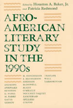 Afro-American Literary Study in the 1990s