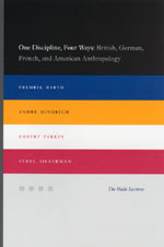 One Discipline, Four Ways: British, German, French, and American Anthropology
