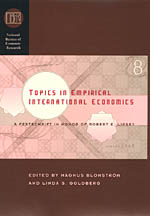Topics in Empirical International Economics: A Festschrift in Honor of Robert E. Lipsey