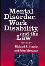 Mental Disorder, Work Disability, and the Law