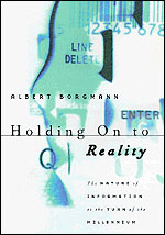 Holding On to Reality: The Nature of Information at the Turn of the Millennium