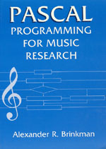 Pascal Programming for Music Research