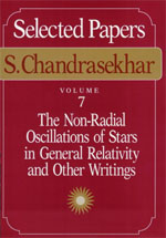 Selected Papers, Volume 7: The Non-Radial Oscillations of Stars in General Relativity and Other Writings