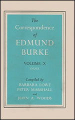 The Correspondence of Edmund Burke, Volume X