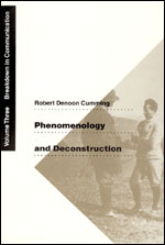 Phenomenology and Deconstruction, Volume Three