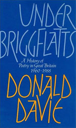 Under Briggflatts: A History of Poetry in Great Britain, 1960-1988