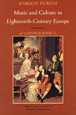 Music and Culture in Eighteenth-Century Europe: A Source Book