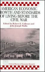 American Economic Growth and Standards of Living before the Civil War