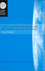 Social Security Programs and Retirement around the World: Micro-Estimation