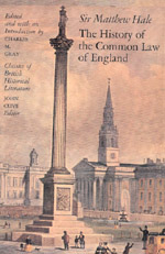 The History of the Common Law in England
