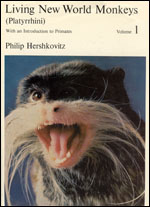 Living New World Monkeys (Platyrrhini), Volume 1: With an Introduction to Primates