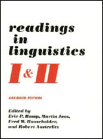 Readings in Linguistics I & II