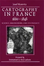 Cartography in France, 1660-1848
