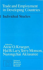 Trade and Employment in Developing Countries, Volume 1: Individual Studies