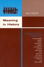 Meaning in History: The Theological Implications of the Philosophy of History