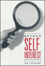 Beyond Self-Interest