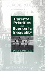 Parental Priorities and Economic Inequality