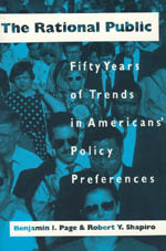 The Rational Public: Fifty Years of Trends in Americans' Policy Preferences