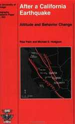 After a California Earthquake: Attitude and Behavior Change