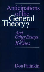 Anticipations of the General Theory?: And Other Essays on Keynes