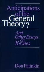 anticipation essay general keynes other theory