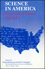 Science in America: A Documentary History, 1900-1939