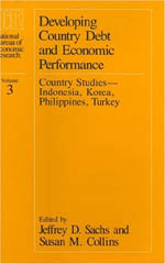 Developing Country Debt and Economic Performance, Volume 3: Country Studies--Indonesia, Korea, Philippines, Turkey
