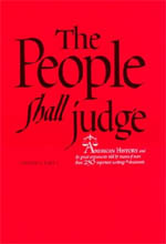 The People Shall Judge, Volume I, Part 1