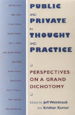 Public and Private in Thought and Practice