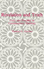 Revelation and Truth: Unity and Plurality in Contemporary Theology