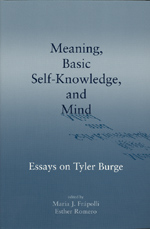 Meaning, Basic Self-Knowledge, and Mind