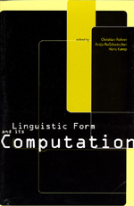 Linguistic Form and Its Computation