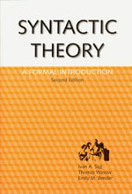 Syntactic Theory: A Formal Introduction, 2nd Edition