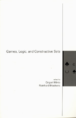 Games, Logic, and Constructive Sets