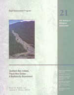 Southern New Ireland, Papua New Guinea: A Biodiversity Assessment