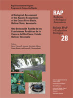 A Biological Assessment of the Aquatic Ecosystems of the Caura River Basin, Bolivar State, Venezuela